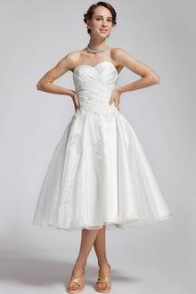 Короткие облегающие свадебные платья
