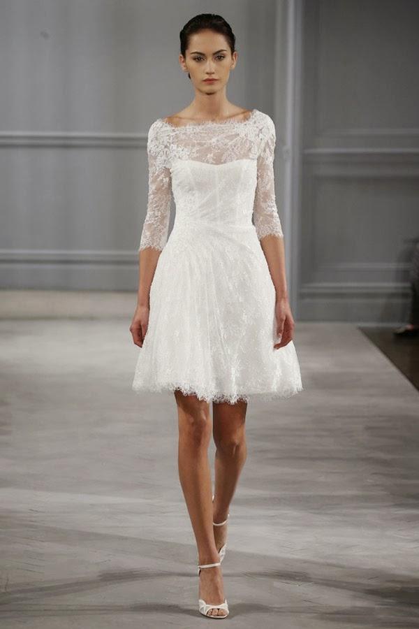 Фото свадебного платья короткого