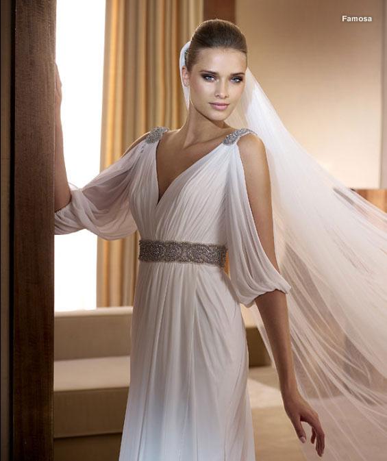 свадебное платье в греческом стиле Ампир свадебное платье в греческом стиле  Ампир вблизи ... 34f3ad2094b87